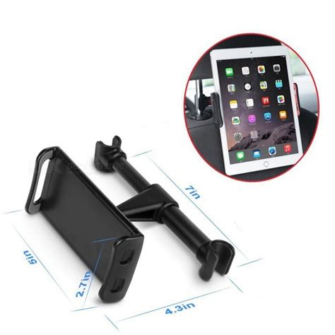 Universal Car Holder 360 Degree Rotation For Tablet Pc universal 360 degree rotation car rear pillow tablet stand