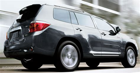 Toyota Highlander Horsepower Toyota Highlander Specs 2008 2009 2010 2011 2012