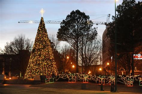 atlanta christmas light displays