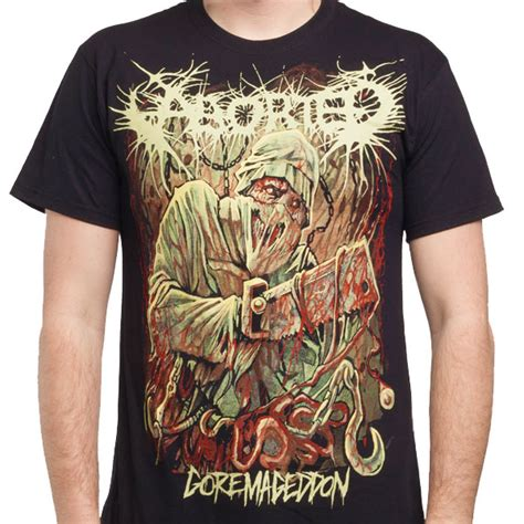 aborted goremageddon vinyl aborted quot goremageddon quot t shirt indiemerchstore