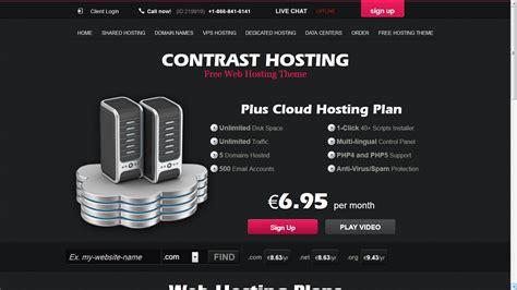 themes wordpress hosting free contrast hosting free wordpress theme