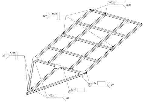 design trailer frame utility trailer assembly tutorial