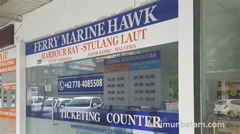 ferry ke batam jadwal kapal ferry batam malaysia dengan ferry marina hawk