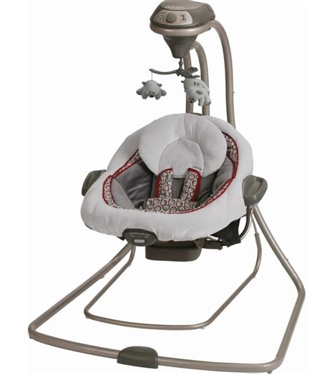 bouncer and swing combo graco duetconnect lx swing bouncer finley