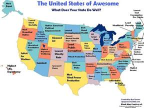 what every state in america is best at and worst at