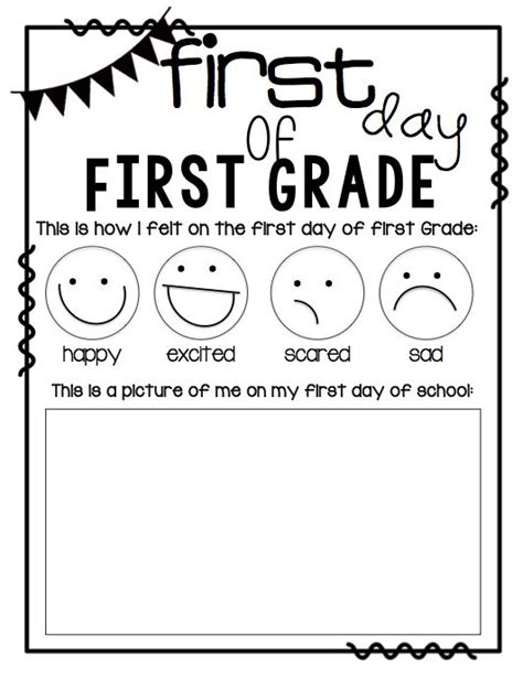 activities kindergarten first day 339 best first grade beginning of the year images on