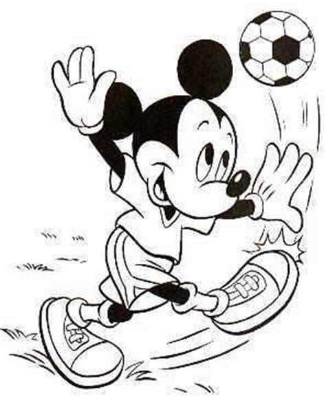 mickey mouse baseball coloring pages mickey mouse football coloring page