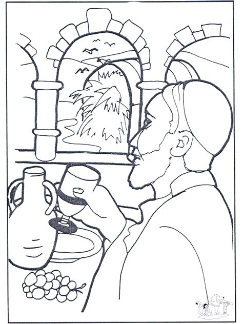 coloring pages jesus water into wine marriage at cana coloring pages