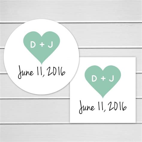Schedule Stickers Schedule Seal Date Marker Stickers wedding stickers wedding favor stickers envelope seals calendar stickers save the date