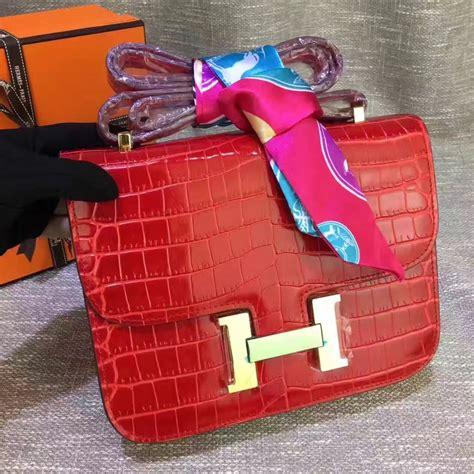 Hermes Constance Croco hermes constance 23cm croco leather 239 00 replica