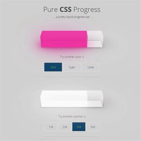 pinterest layout pure css pure css progress coding 3d chart code css css3 free html