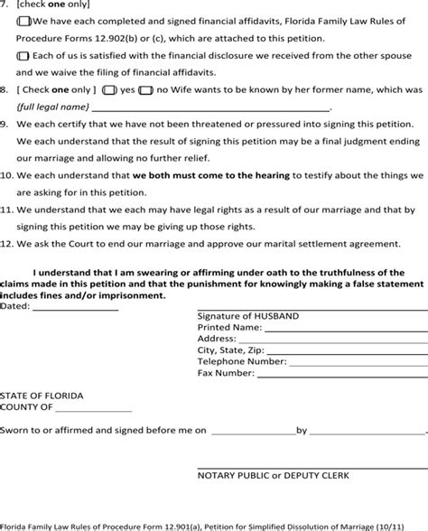 Florida marriage annulment records