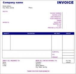 It Invoice Template by 27 Free Basic Invoice Templates Free Premium Templates