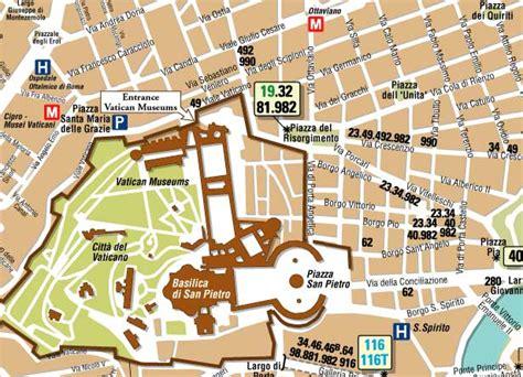 comprar entrada vaticano mapa de vaticano