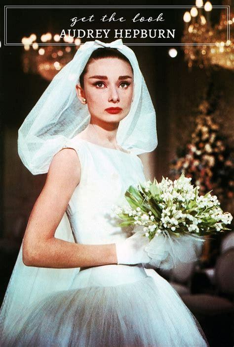 audrey hepburn wedding dress glamour grace