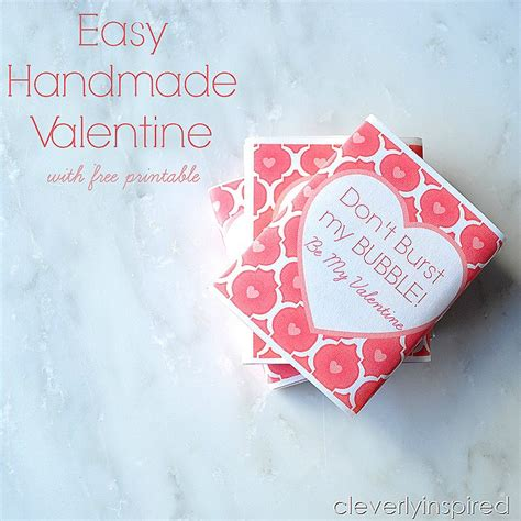 Simply Handmade - easy handmade with free printable cleverly
