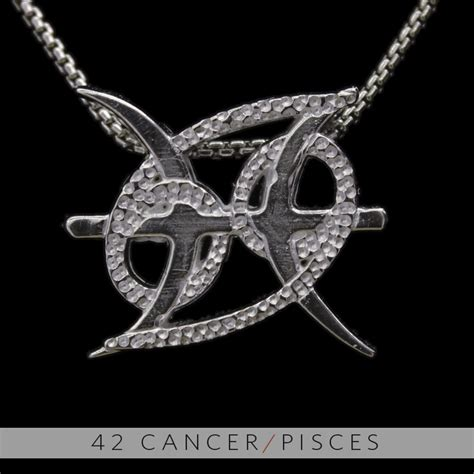 unity design concepts the cancer and pisces silver unity