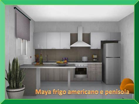 arredamenti americani stosa cucine con penisola e frigo americano cucine