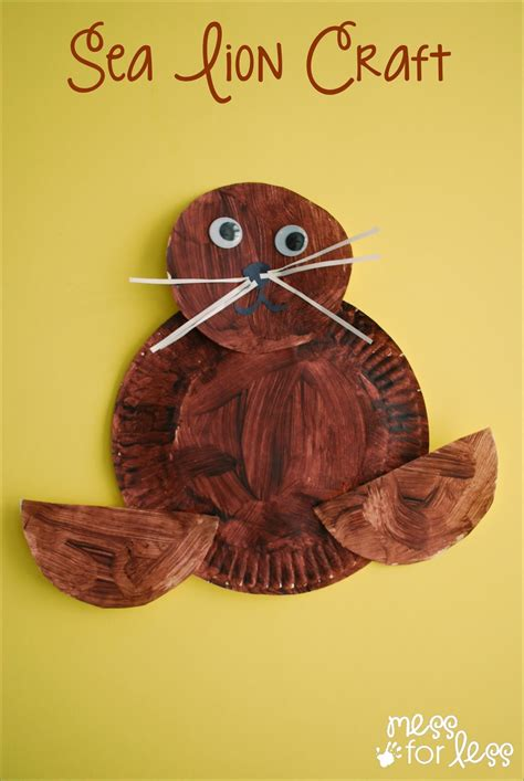 uniquely californian sea lion craft mess