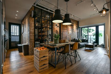 industrial lofts charming industrial loft in new taipei city idesignarch