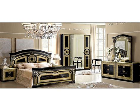 Italian Furniture Bedroom Classic Italian Bedroom Set Aida 3313ai
