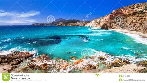 acquisto isole greche spiagge delle isole greche milo cicladi fotografia