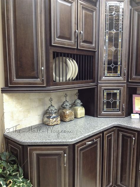 grey stained maple cabinets the perfect spot the hall way
