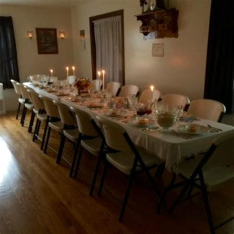 stone house bed and breakfast amish wedding dinner table picture of old stone house