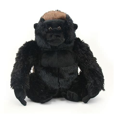 cuddlekins silverback gorilla stuffed animal by wild republic
