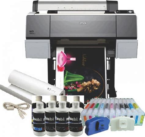 printing vinyl on inkjet epson stylus pro 7890 24 inch inkjet printer sublimation