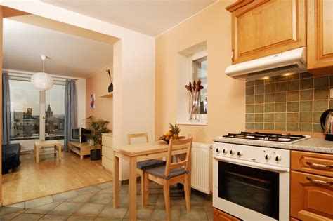 kitchen rooms 2 room terrace apartment 809 apartments prague hotel