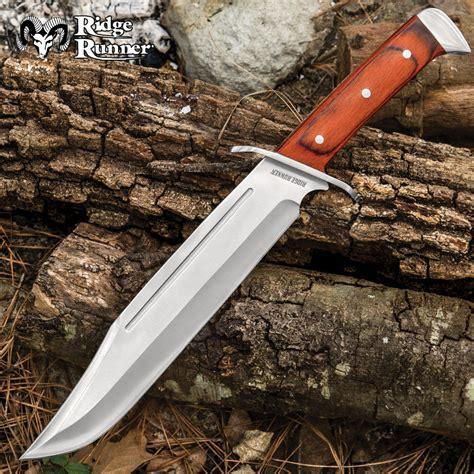best bowie knives ridge runner renegade bowie knife budk knives