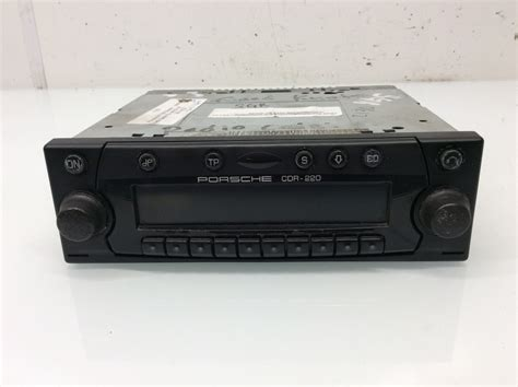 porsche stereo porsche 911 996 boxster radio stereo cd cdr 220 cdr 220