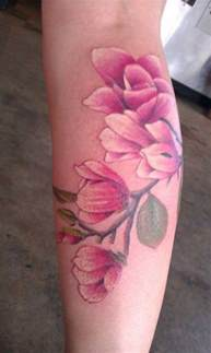 50 magnolia flower tattoos art and design