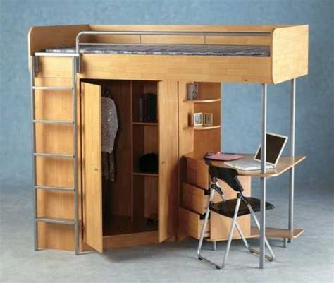 Loft Bed With Closet And Desk by Selecting Beds For Room Design 22 Beds And Modern