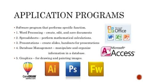 computer software computer software programs