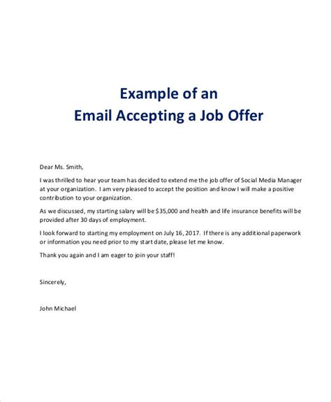 collection of solutions job offer rejection thank you letter