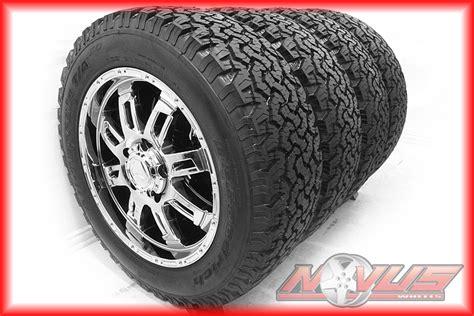 Toyota Tundra All Terrain Tires 20 Quot Toyota Tundra Sequoia Factory Oem Chrome Wheels Bfg