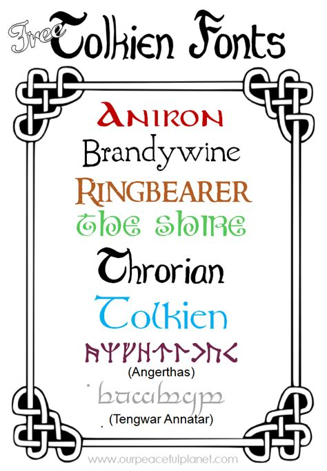 tattoo fonts elvish free tolkien fonts 183 elvish tolkien and runes