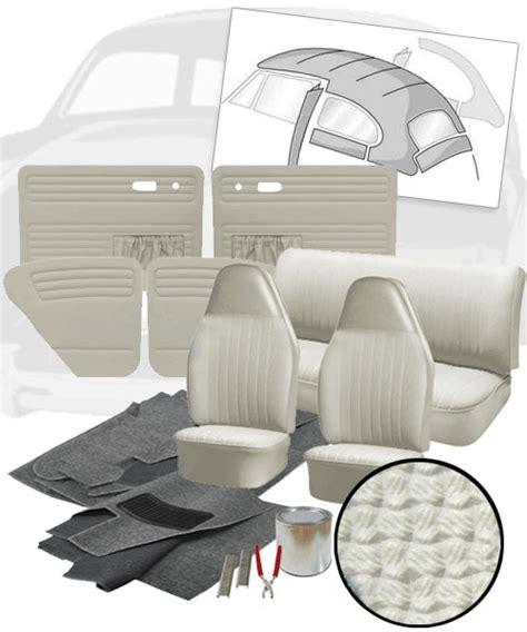 Vw Interior Kits by Deluxe Basket Weave Vw Interior Kit Beetle Sedan