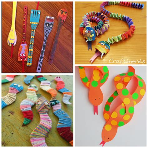 the coolest snake crafts for to create crafty morning