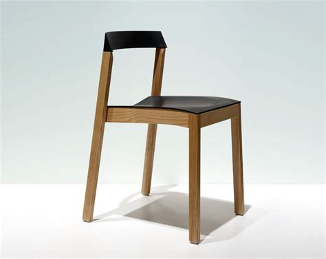 Stackable Chairs Wood by The Daily Brot O4i Wood And Rubber Stackable Chair