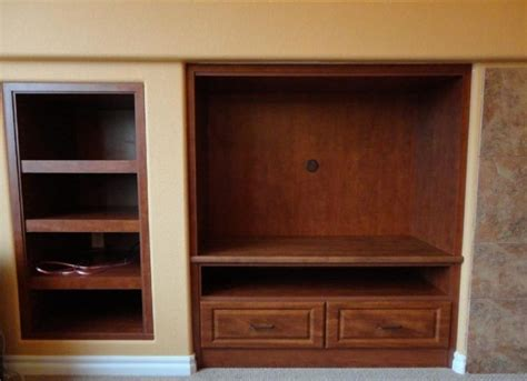 tv built in cabinets for the home