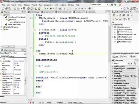 video tutorial delphi xe tutorial delphi datasnap doovi