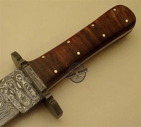 custom bowie knives professional damascus bowie knife custom handmade damascus