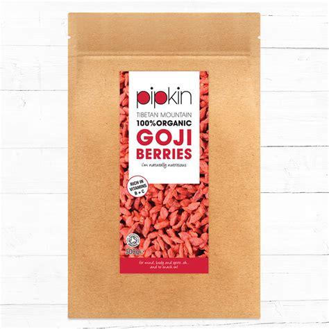 500 Gram Gojiberry pipkin superfoods organic goji berries 500g