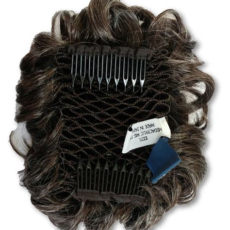 black women balding crown hair piece curly wiglet topper hair piece for thinning crown top
