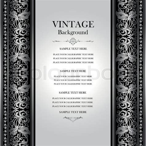 Modern Victorian Home Decor by Vintage Elegant Background Antique Victorian Silver