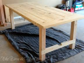Do It Yourself Dining Room Table Do It Yourself Dining Table