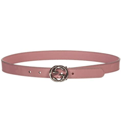 gucci pink patent leather belt childrensalon